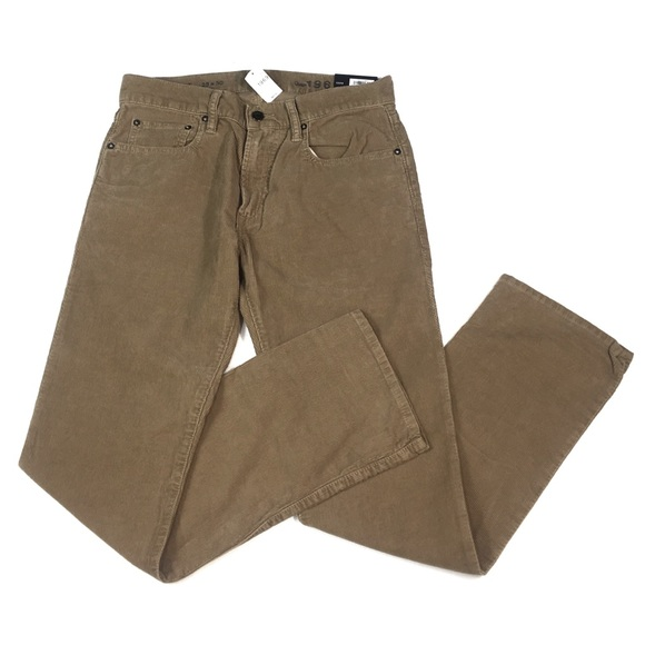 🇺🇸MJ50 NWT Gap Straight Leg Corduroy Pants 29x30